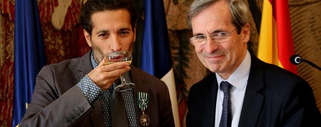 Israel Galván recibe la insignia de Oficial de la Orden de las Artes y las Letras de Francia