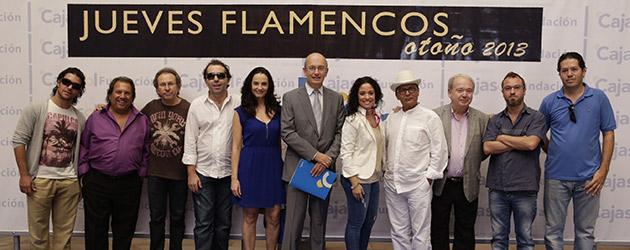 Los Jueves Flamencos de la Fundación Cajasol presentan su cartel de otoño 2013