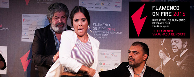 III Festival Flamenco de Pamplona – Flamenco on Fire