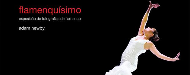 «Flamenquísimo», exposición fotográfica de Adam Newby en Lisboa.