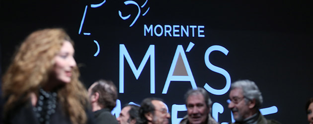 """TRIBUTO MÁS TRIBUTO, los flamencos se unen en torno a la figura de Morente en """"Morente más Morente"""""""