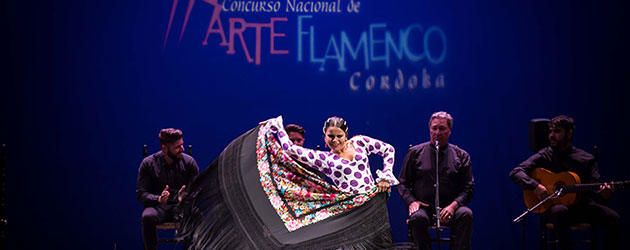 Finalists of the 21st Concurso Nacional de Arte Flamenco de Córdoba