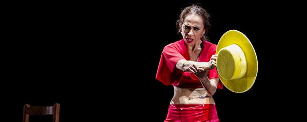 Dju-Dju – Isabel Bayón, coreografía Israel Galván. La Bienal
