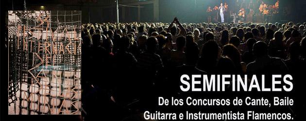 Semifinalistas de los Concursos del Festival Internacional del Cante de las Minas 2014