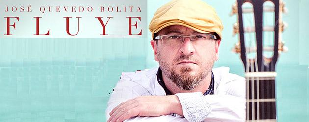 El guitarrista flamenco José Quevedo Bolita presenta su disco debut FLUYE en Sevilla