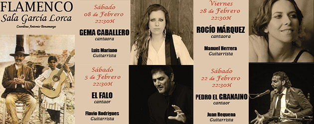 Young singers, great singers. García Lorca Sala in Madrid throughout February