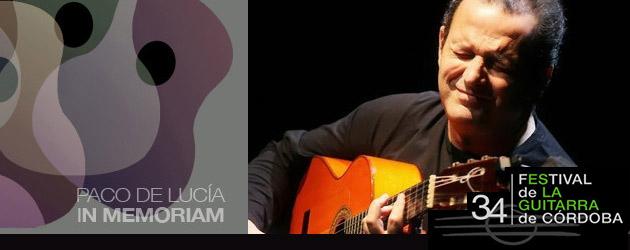 Festival de la Guitarra de Córdoba 2014. Paco de Lucía in memoriam