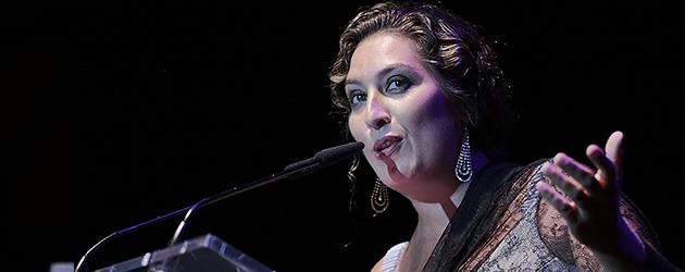 Estrella Morente, pregonera en el Cante de las Minas