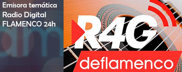 Radio4G DeFlamenco, emisora de radio digital dedicada al Flamenco