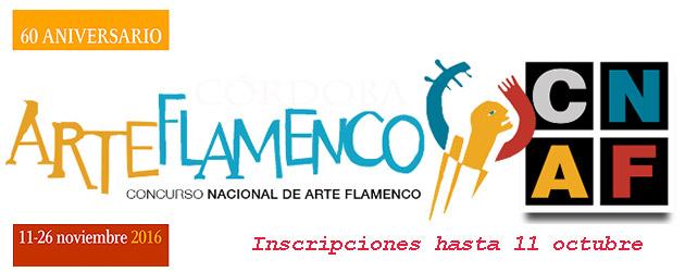 XXI Concurso Nacional de Arte Famenco de Córdoba. Inscripciones hasta el 11 de octubre.