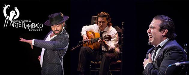José Anillo, Barullo y El Currito, ganadores del XXI Concurso Nacional de Arte Flamenco, actúan en la Gala de entrega de Premios