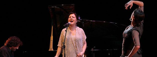 "Carmen Linares ""Ensayo Flamenco 2012"" Festival de Nimes 2013"