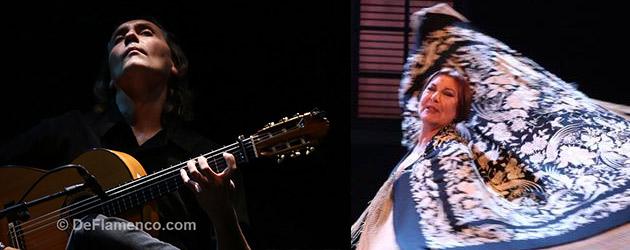 Vicente Amigo and Blanca del Rey receive Medallas de Oro al Mérito en las Bellas Artes