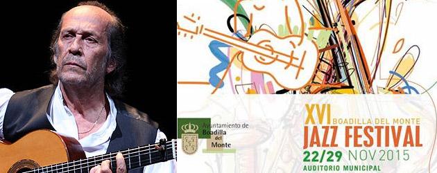 XVI Festival de Jazz de Boadilla del Monte – Tributo a Paco de Lucía