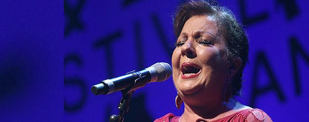 "CARMEN LINARES, The ""grande-dame of flamenco"" at Cante de las Minas."
