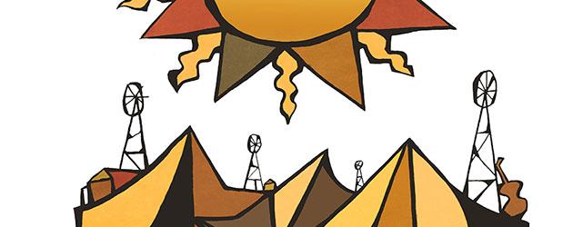 Cartel anunciador de la LVII edición del Festival Internacional del Cante de las Minas de La Unión 2017