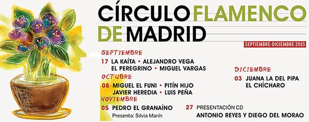 Programación Círculo Flamenco de Madrid