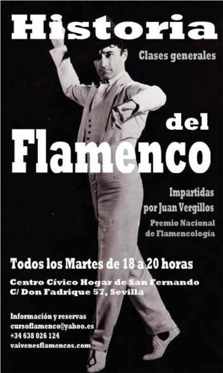 """Clases """"Historia del Flamenco"""" en Sevilla"""