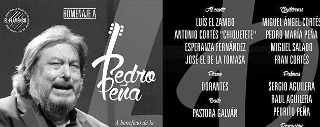 Homenaje a Pedro Peña en Sevilla