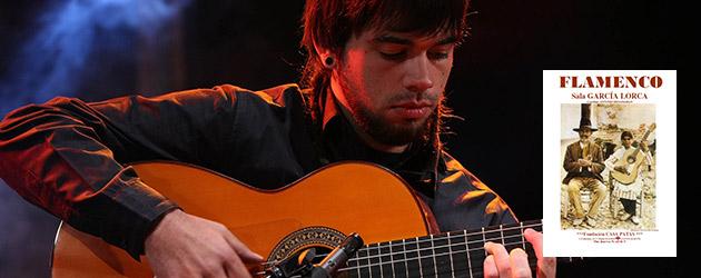 Javier Conde, guitarra flamenca en concierto en la Sala García Lorca