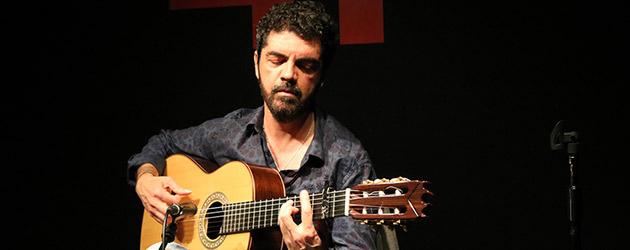 El guitarrista José Carlos Gómez presenta su nuevo disco  en el Instituto Cervantes de Tokio