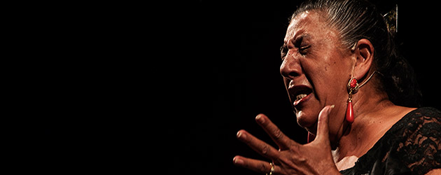 Juana la del Pipa en la Sala García Lorca