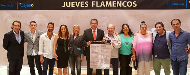 Programación Jueves Flamencos Cajasol Otoño 2015