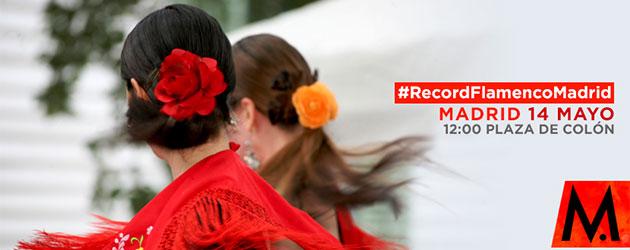 Comienza Flamenco Madrid con una clase multitudinaria de baile flamenco en busca de record
