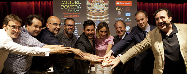 Miguel Poveda reúne a grandes artistas para una gala contra el cáncer