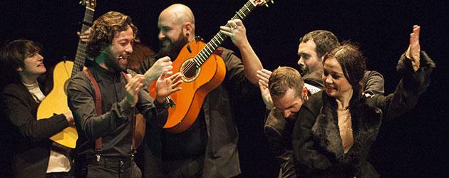 """Without damaging Flamenco"" Olga Pericet in Festival de Jerez"