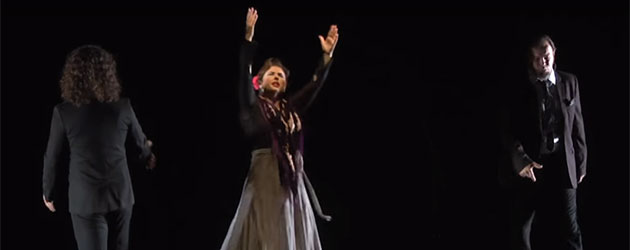 Pastora baila en Flamenco Madrid
