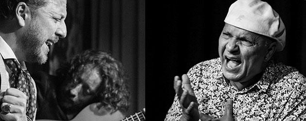 Cante grande en la Sala García Lorca con El Pele y Rubio de Pruna