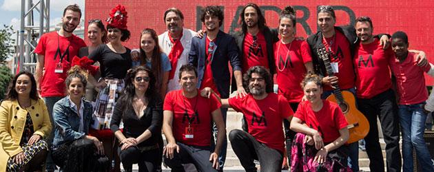 Más de 3000 personas bailaron por el Récord Flamenco Madrid