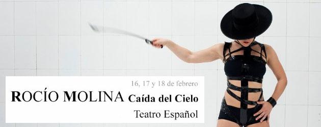 Llega al Teatro Español  la nueva creación de Rocío Molina: Caída del cielo