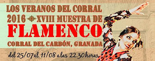 XVIII Muestra de Flamenco  – Los Veranos del Corral.