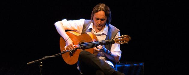 Vicente Amigo en la Suma Flamenca de Madrid 2016