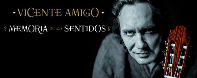 """""""Memoria de los sentidos"""" octavo disco de Vicente Amigo"""