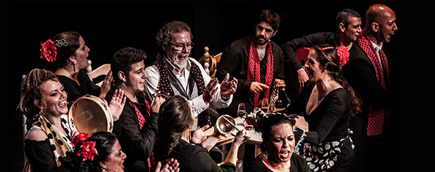 Zambomba Flamenca at the Teatro La Latina in Madrid