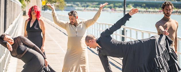 La Bienal saca el flamenco a la calle