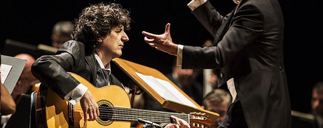 """Concierto """"Al-Andalus"""" para guitarra y orquesta a la memoria de Paco de Lucía"""