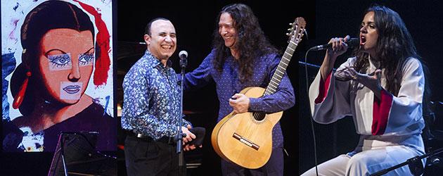 Tomatito & Michel Camilo – Rosalía & Refree. Dobles parejas sin miedo al silencio.
