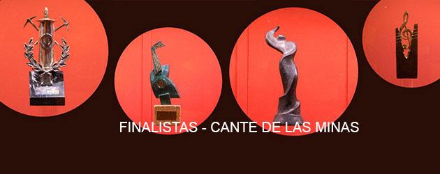 Relación de finalistas del Cante de las Minas 2017