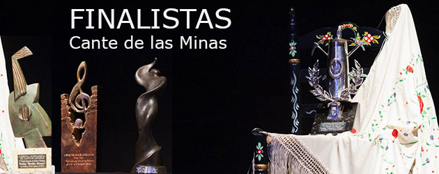 Finalists of the Cante de las Minas 2014