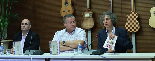 """Presentación del libro-cd """"La correspondencia de Sábicas"""" de José Manuel Gamboa en La Unión"""