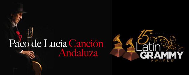 """Paco de Lucía, """"Mejor Álbum del Año"""" y """"Mejor Álbum de Música Flamenca"""""""