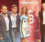 Los ganadores del certamen IAJ en La Bienal de Flamenco