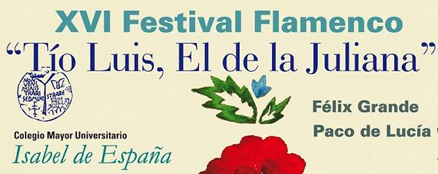 XVI Festival Tio Luis, El de la Juliana