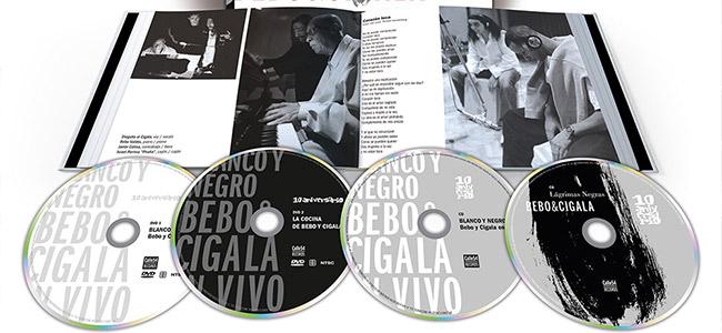 """BEBO & CIGALA """"LAGRIMAS NEGRAS"""" Edición 10º Aniversario"""