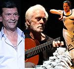 Gold Medals for Merit in Performing Arts for Manolo Sanlúcar, El Güito and María Pagés