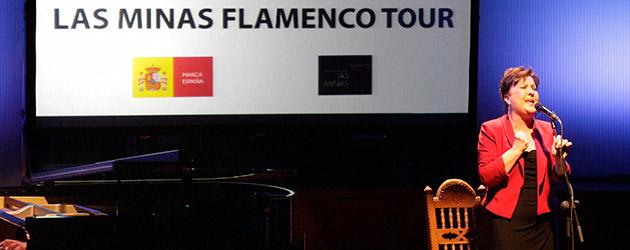 Las Minas Flamenco Tour se presenta en Madrid.